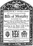 Bills of Mortality