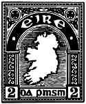 Irish 1923 Eire Map