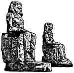Sitting Pharaohs