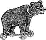 Bear on Wheels