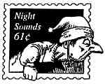 Night sounds Postage