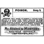 Poison Label