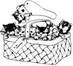Basket O'Kitties