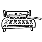 Typewriter for Banner