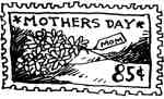 Mother's Days Stamp