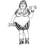 Working Out Woman