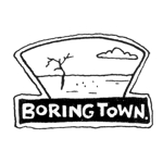 Boringtown Road Sign