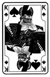 Japanese King of Spades