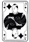 Japanese Jack of Diamonds