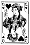 Japanese Queen of Hearts