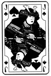 Japanese Jack of Spades