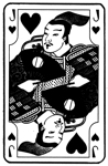 Japanese Jack of Hearts