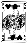 Japanese King of Hearts