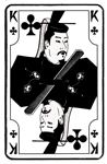 Japanese King of Clubs