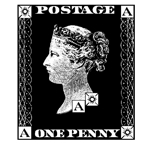 One Penny Postage Sml