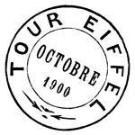 Eiffel Tower Postmark