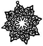 Snowflake Ornament - Sml