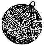 Embossed Ornament Lg