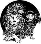 Brownie with Lion