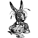 Rabbit Serving Tea Sml