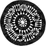 Rd Shield with circle pattern