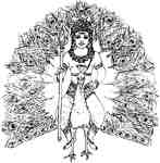 Skanda or Karttikeya God of War