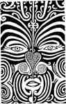 Tribal flat face Papua