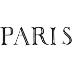 Paris word from 1807 book