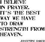 Believe in Prayer