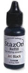 Stazon Jet Black Refill