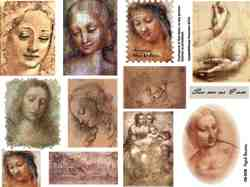 Aged Beauty Collage Sheet