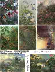ATC Backgrounds  Collage Sheet