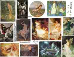 Fairy Flight Collage Sheet