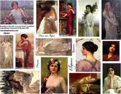 Roman Elegance Collage Sheet