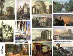 Scenery Collage Sheet