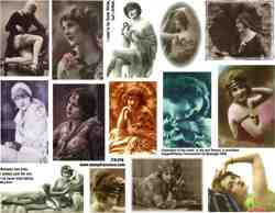 All Flapper Collage Sheet