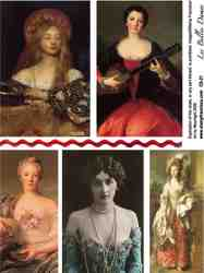 Les Belles Dames Collage Sheet