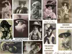 The Hat Collage Sheet