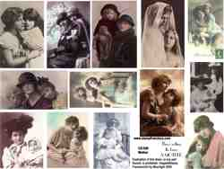 Mother Collage Sheet