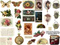 ATC Stuff Collage Sheet