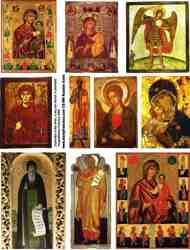 Russian Icons Collage Sheets