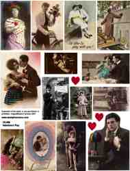 Valentine Play Collage Sheet