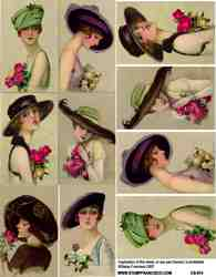 Lovely Ladies Collage Sheets