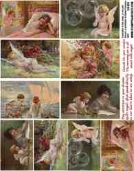 Angel in the Garden Collage Sheets
