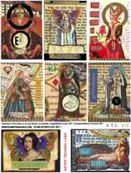 Astrid's ATC Set 1 Collage Sheet