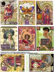 Astrid's ATC Set 2 Collage Sheet