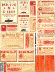 Bed Bugs Collage Sheet
