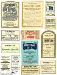 Druggist Labels 2 Collage Sheet