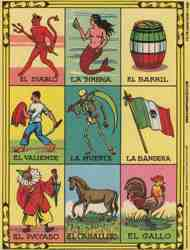 Loteria Cards Collage Sheet