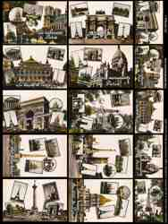 Paris 1 Collage Sheet